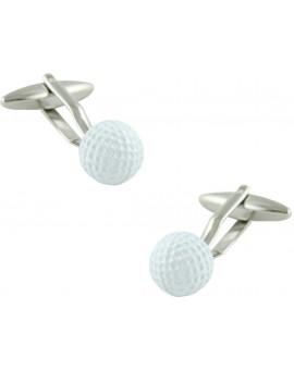 Gemelos Bola de Golf Blanca