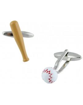 Gemelos Bate y Bola de Béisbol