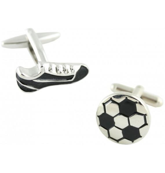 Football Boot and Ball Cufflinks