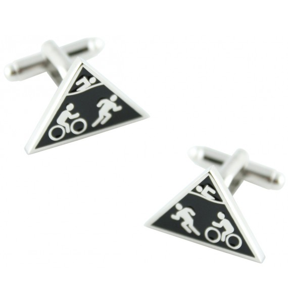 Triathlon Cufflinks