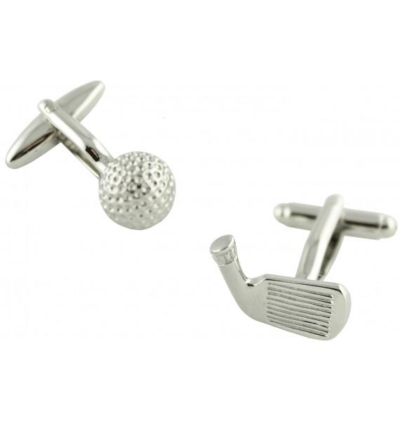 Golf Ball and Iron Cufflinks