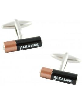 Alkaline Battery Cufflinks