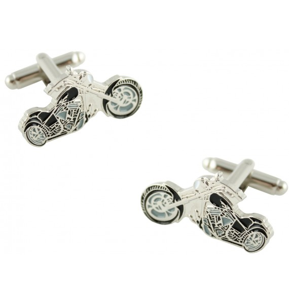 Black Harley Cufflinks