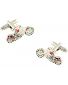 Red Harley Cufflinks