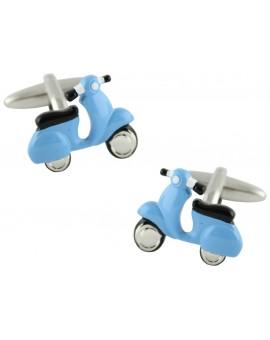 Gemelos Scooter Azul