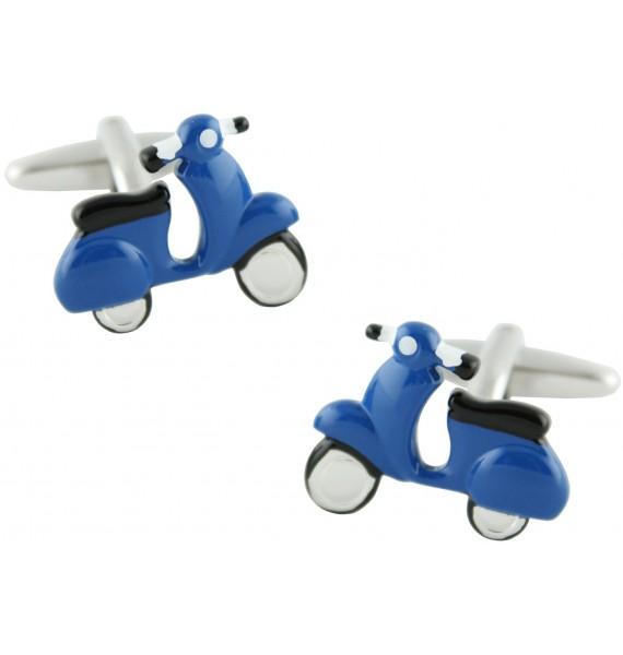 Gemelos Scooter Azul Marino