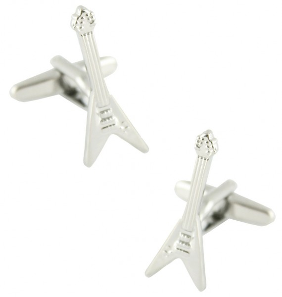 Gibson Flying V Guitar Cufflinks