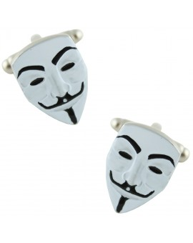 Anonymous Mask Cufflinks