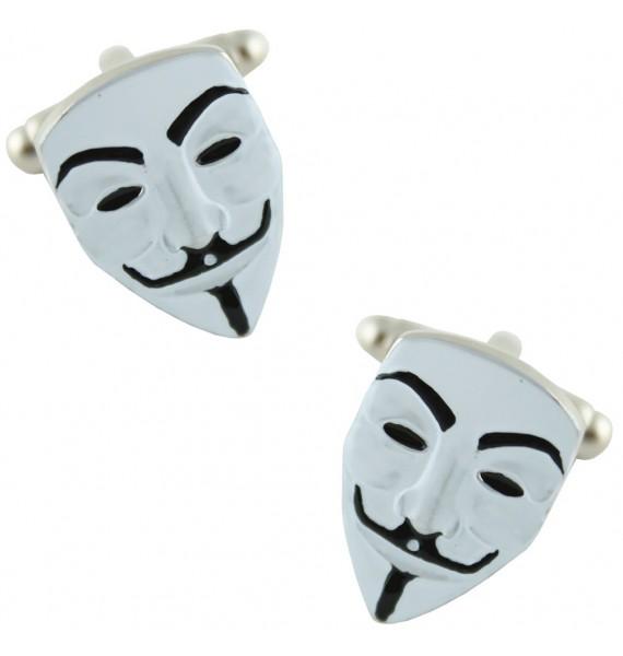 Anonymous Mask Cufflinks