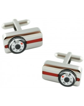 Rectangular Compass Cufflinks