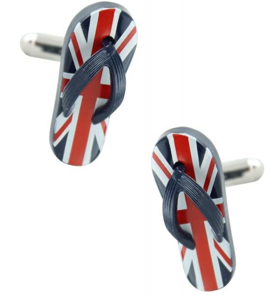 UK Flip Flop Cufflinks