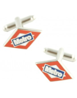 Madrid Subway Sign Cufflinks