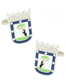 Madrid City Council Symbol Cufflinks