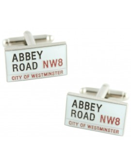 Abbey Road Sign Cufflinks