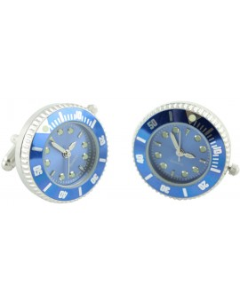 Gemelos Reloj Sport Azul