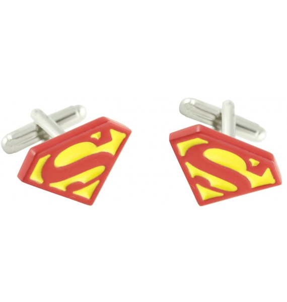 Superman Classic Shield Cufflinks