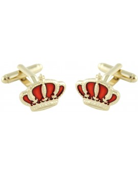 Spanish Royal Crown Cufflinks