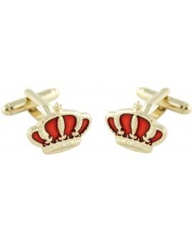 Spanish Royal Crown Cufflinks