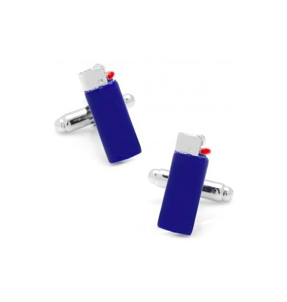 Blue Clipper Lighter Cuffinks