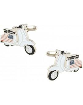 American Vespa Cufflinks