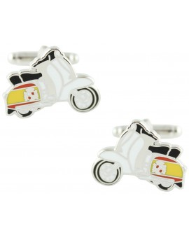 Spanish Vespa Cufflinks