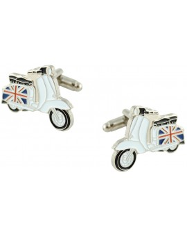 British Vespa Cufflinks