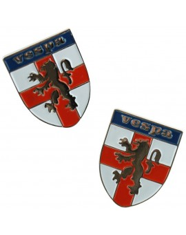 Vespa Shield Logo Cufflinks