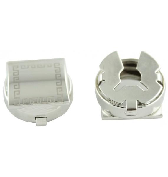 Filigree Square Button Covers