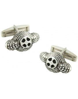 Sterling Silver Bullfighter Hat Cufflinks