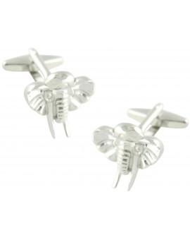 Elephant Head Cufflinks