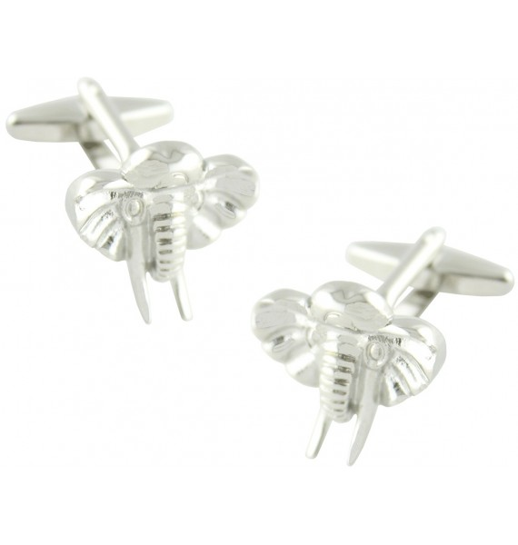 Elephant Head Cufflinks