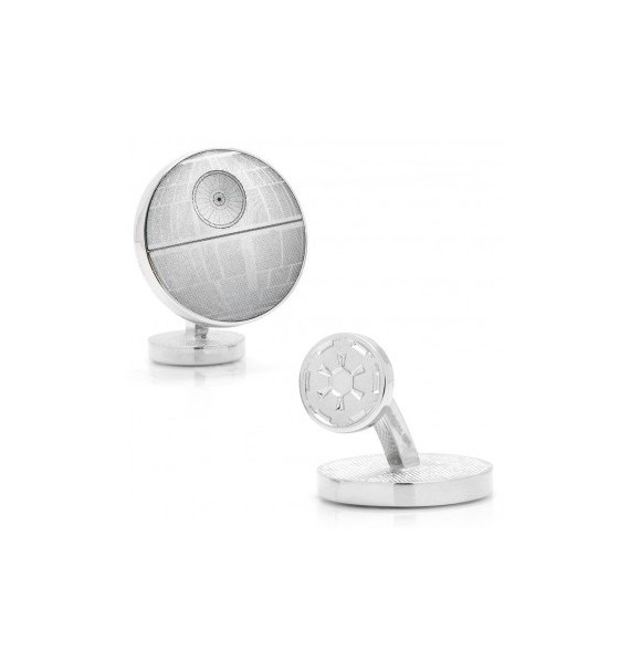 Death Star Blueprint Star Wars Cufflinks