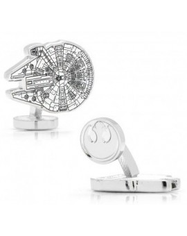 Millennium Falcon Blueprint Star Wars Cufflinks
