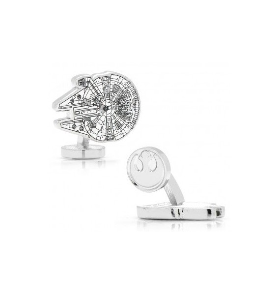 Millenium Falcon Blueprint Star Wars Cufflinks