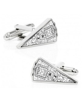 Imperial Star Destroyer Star Wars Cufflinks