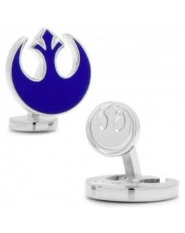 Blue Rebel Alliance Symbol Star Wars Cufflinks