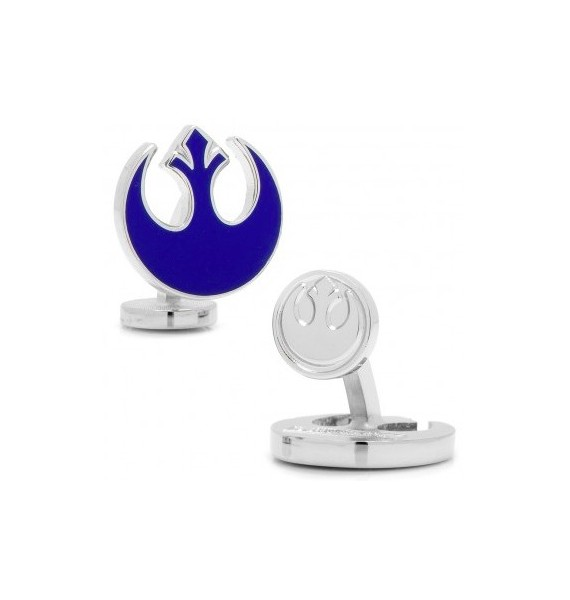 Blue Rebel Symbol Star Wars Cufflinks