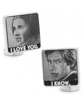 Gemelos I love you and I know Poster Star Wars