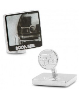 """Boop"" and ""Beep"" R2D2 Pop Art Poster Cufflinks"