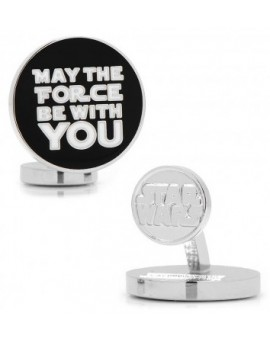 May the Force Be With You Star Wars Cufflinks