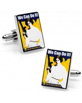 """Gemelos """"We can do it"""" Princesa Leia Star Wars"""
