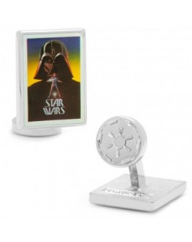 Darth Vader Vintage Pop Art Poster Cufflinks