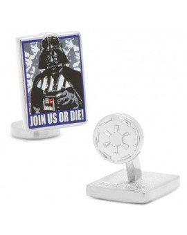 """Join Us Or Die"" Pop Art Poster Star Wars Cufflinks"