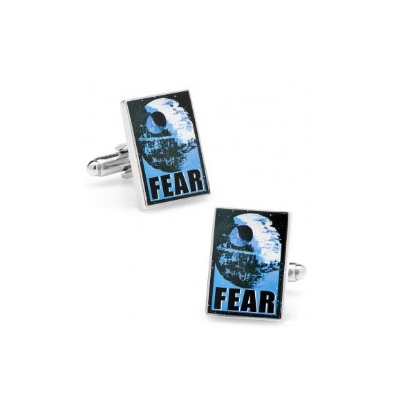 Fear Pop Art Poster Star Wars Cufflinks