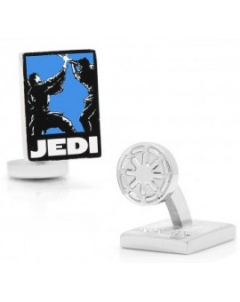 Jedi Pop Art Poster Star Wars Cufflinks