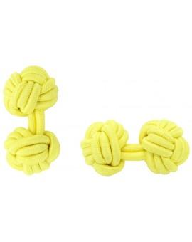 Gemelos Bola Elástico Amarillo