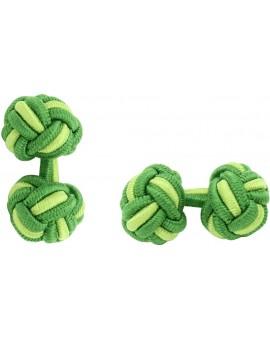 Gemelos Bola Elástico Verde Hierba y Verde Pistacho