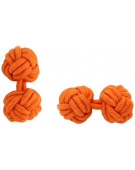 Gemelos Bola Elástico Naranja