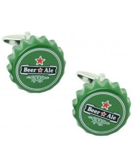 Gemelos Chapa de Cerveza