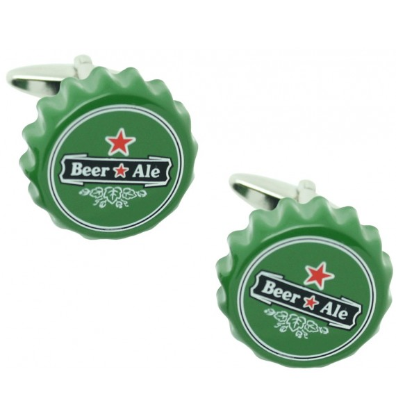 Beer Cap Cufflinks
